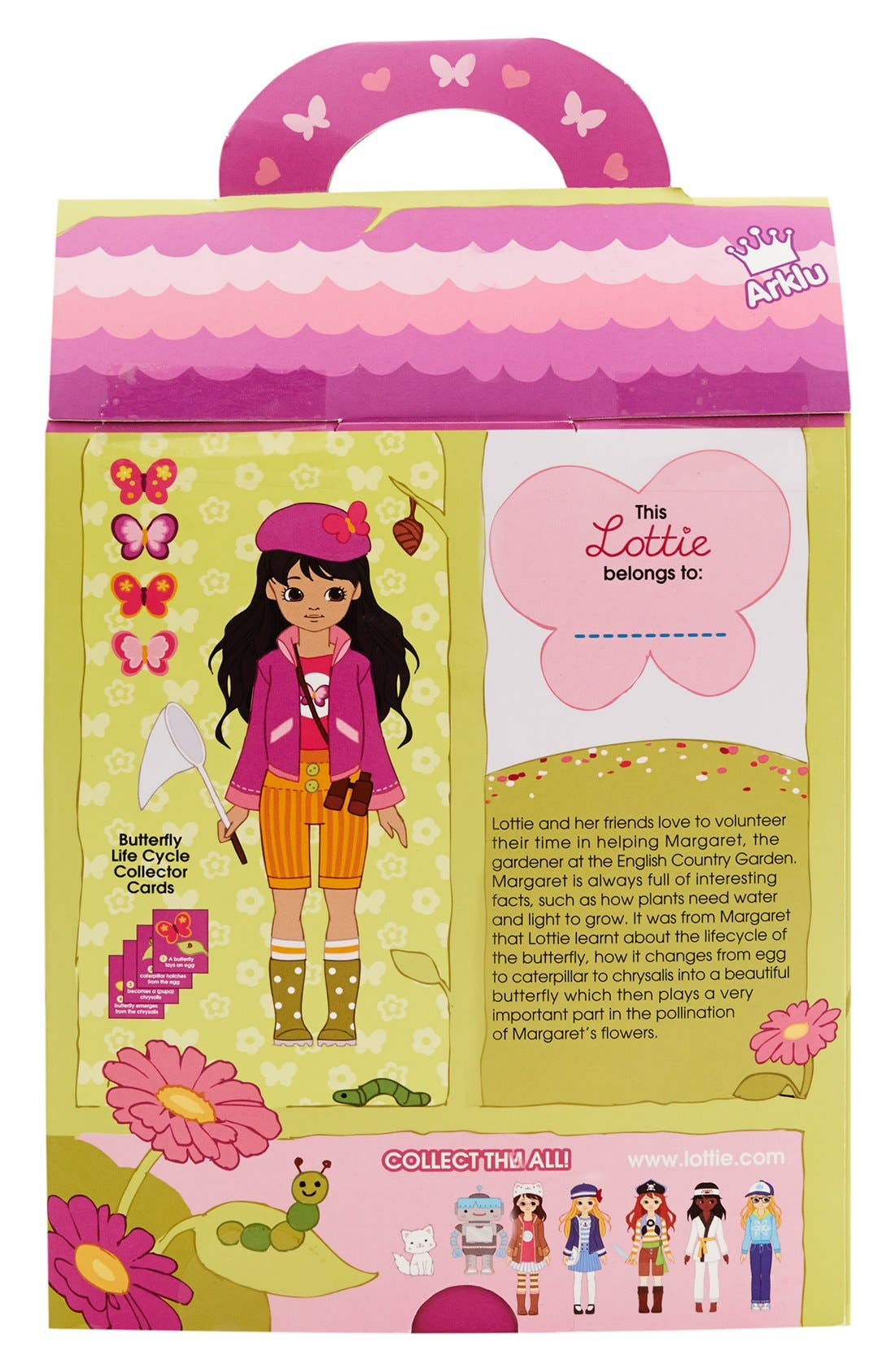 Alternate Image 8  - Schylling 'Lottie™ - Butterfly Protector' Doll