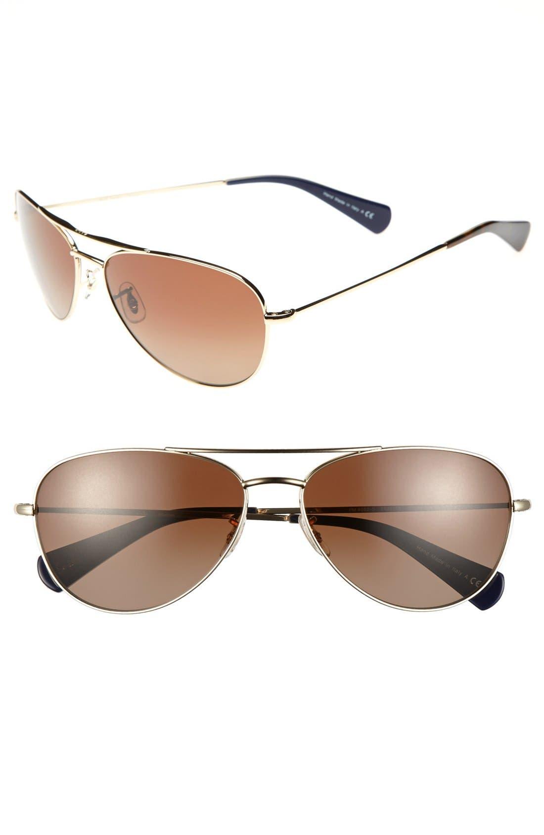 Alternate Image 1 Selected - Paul Smith 'Orsett' 61mm Polarized Sunglasses