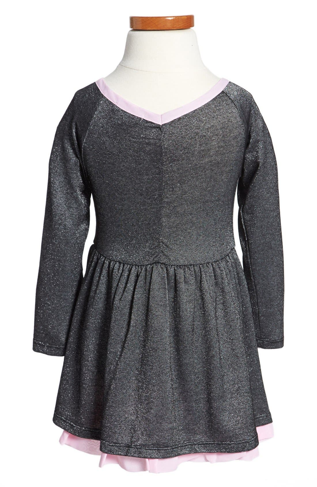 Alternate Image 2  - Splendid Ballerina Dress (Toddler Girls)