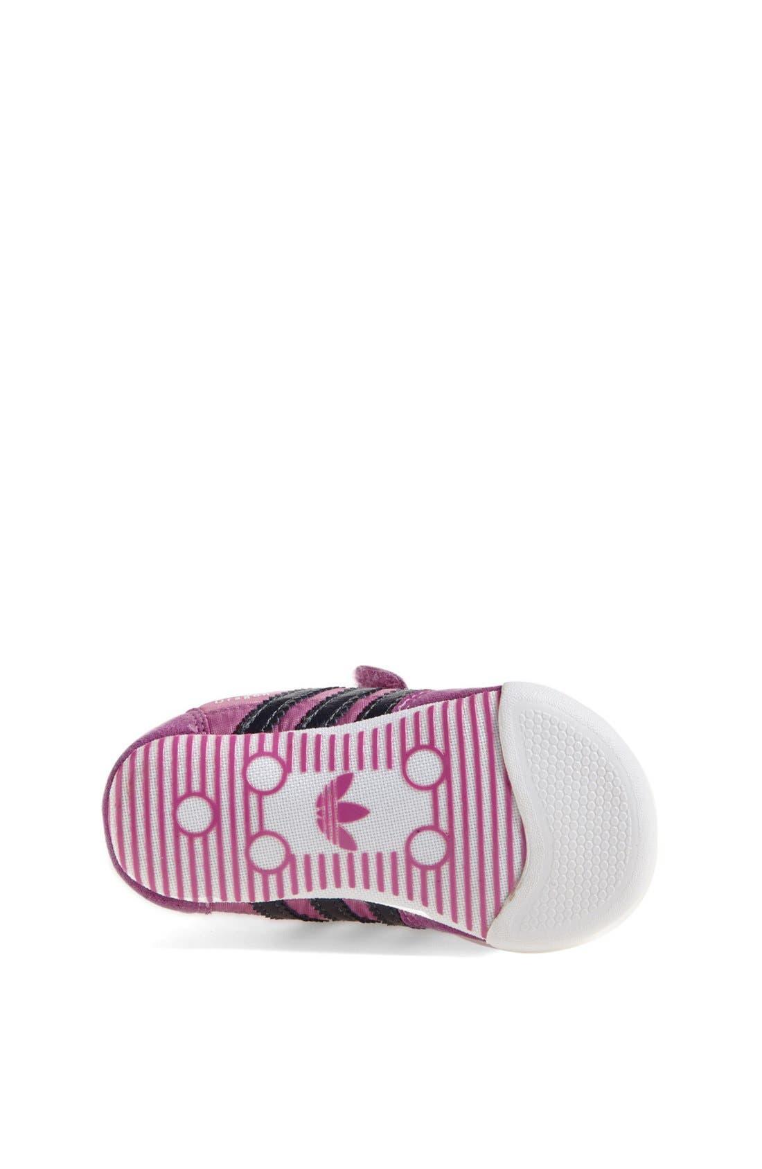 Alternate Image 4  - adidas 'Learn-2-Walk - Dragon' Crib Shoe (Baby Girls)