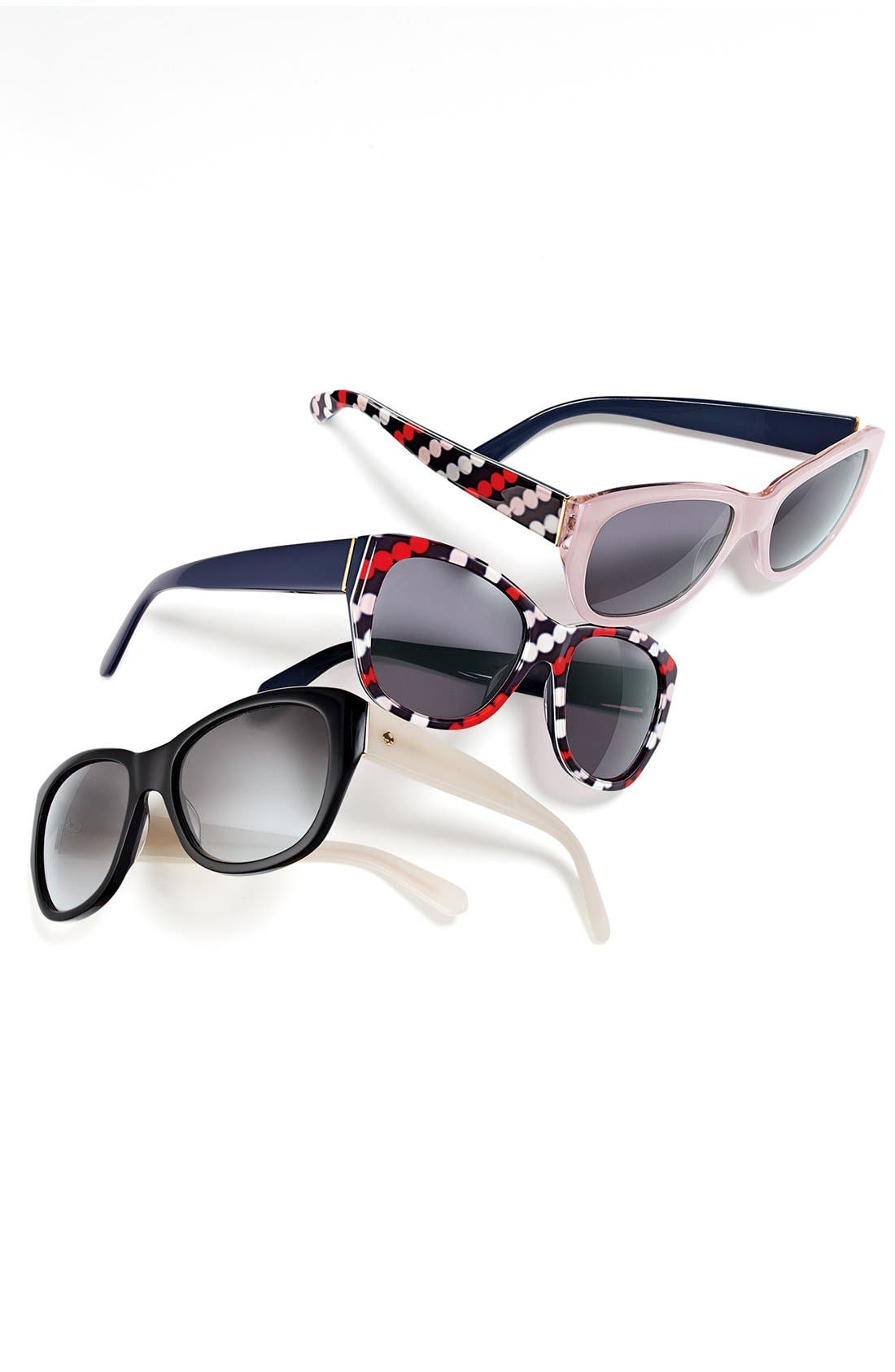 Alternate Image 3  - kate spade new york 'kia' 54mm cat eye sunglasses