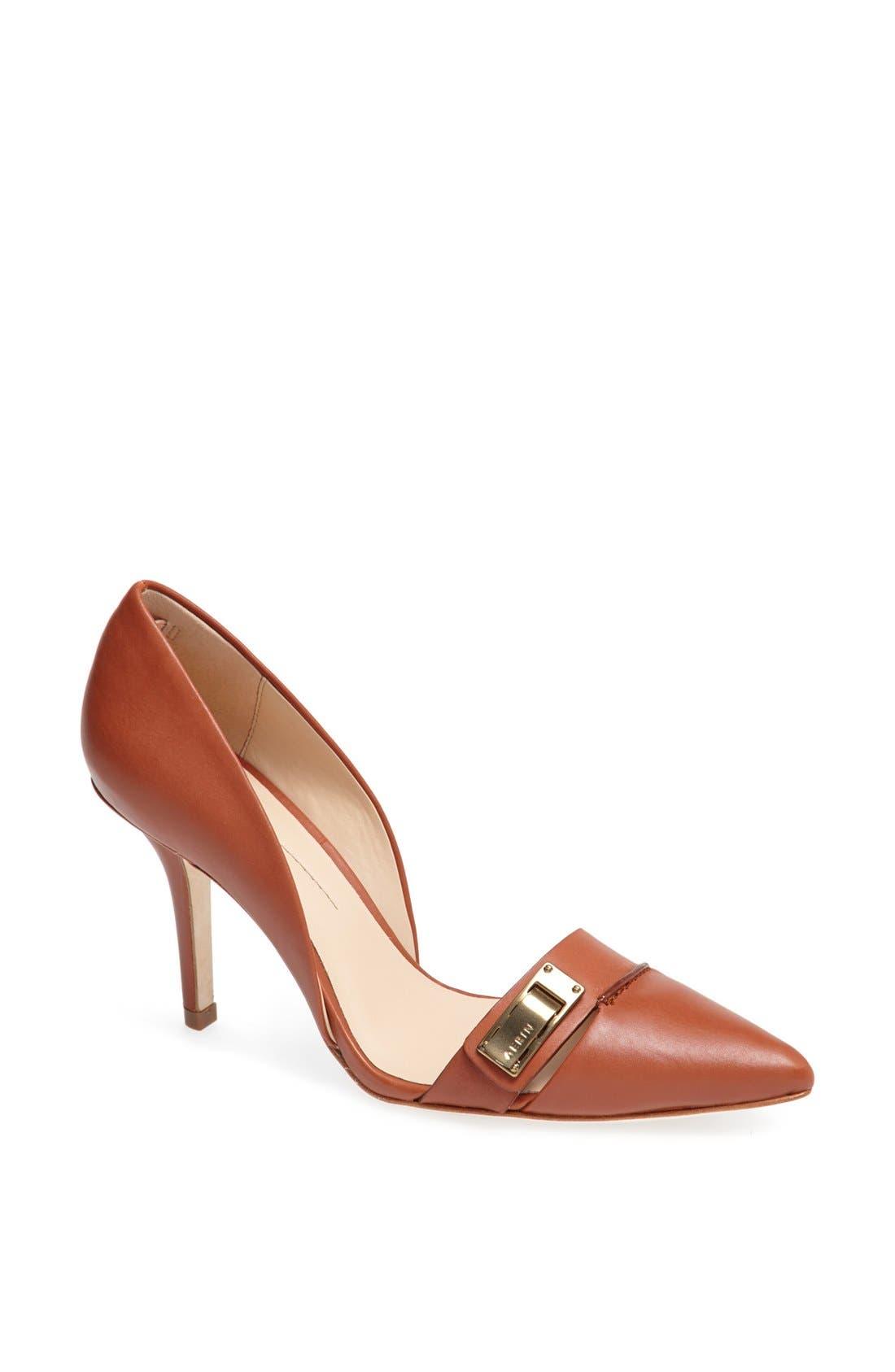 Main Image - Aerin 'Fatima' Leather Pointy Toe Pump