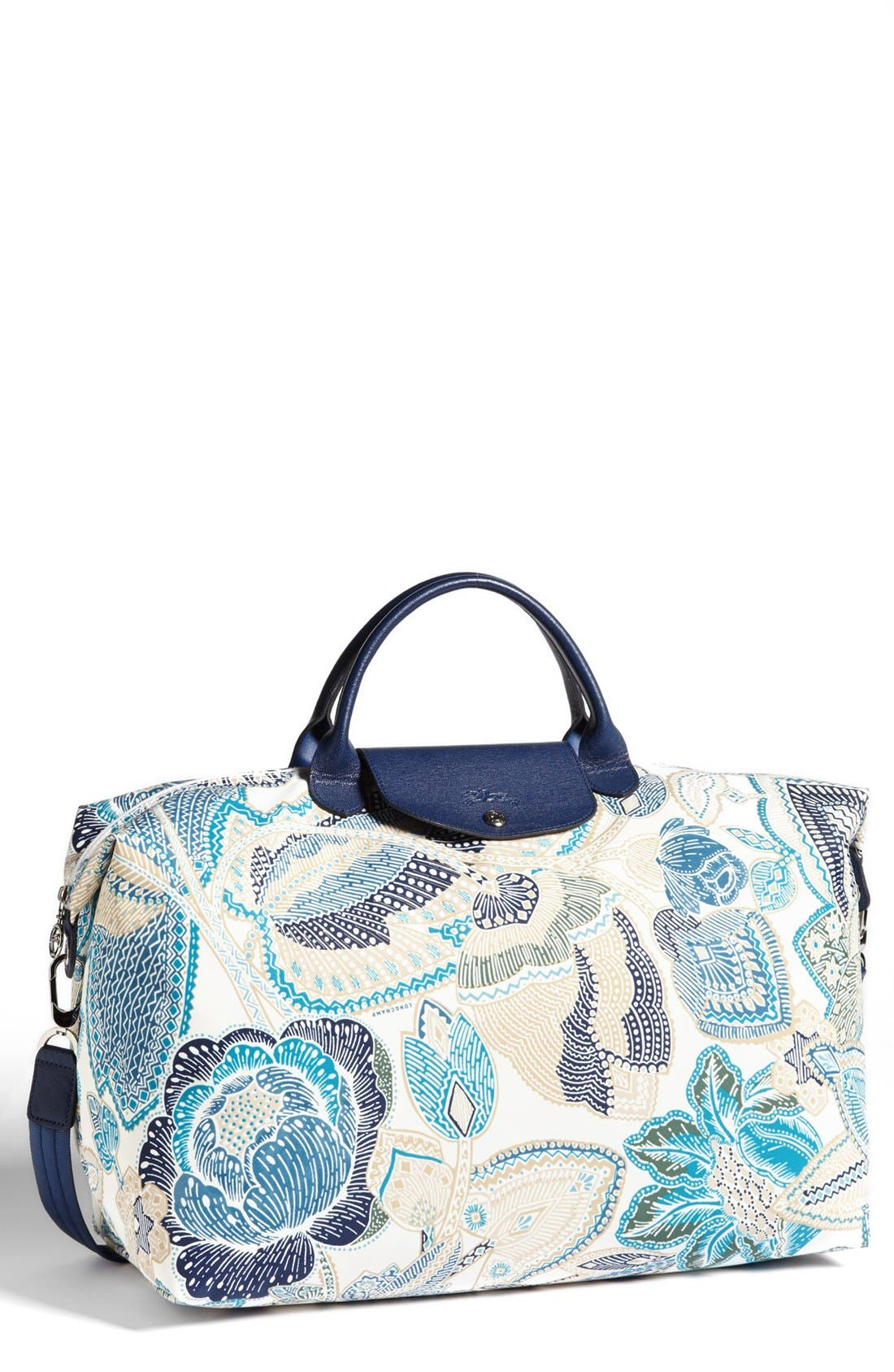 'Fleurs de Ravello' Travel Bag,                             Main thumbnail 1, color,                             Indigo