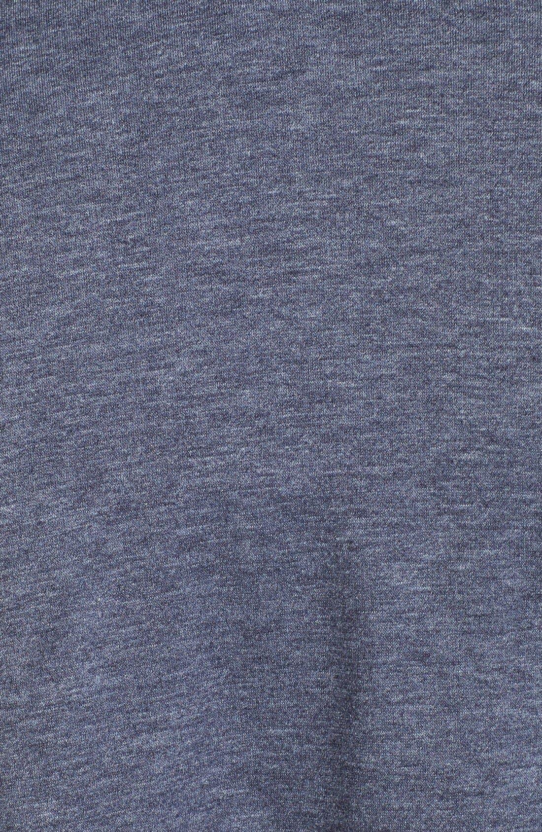 Alternate Image 3  - Bobeau One-Button Fleece Cardigan (Plus Size)