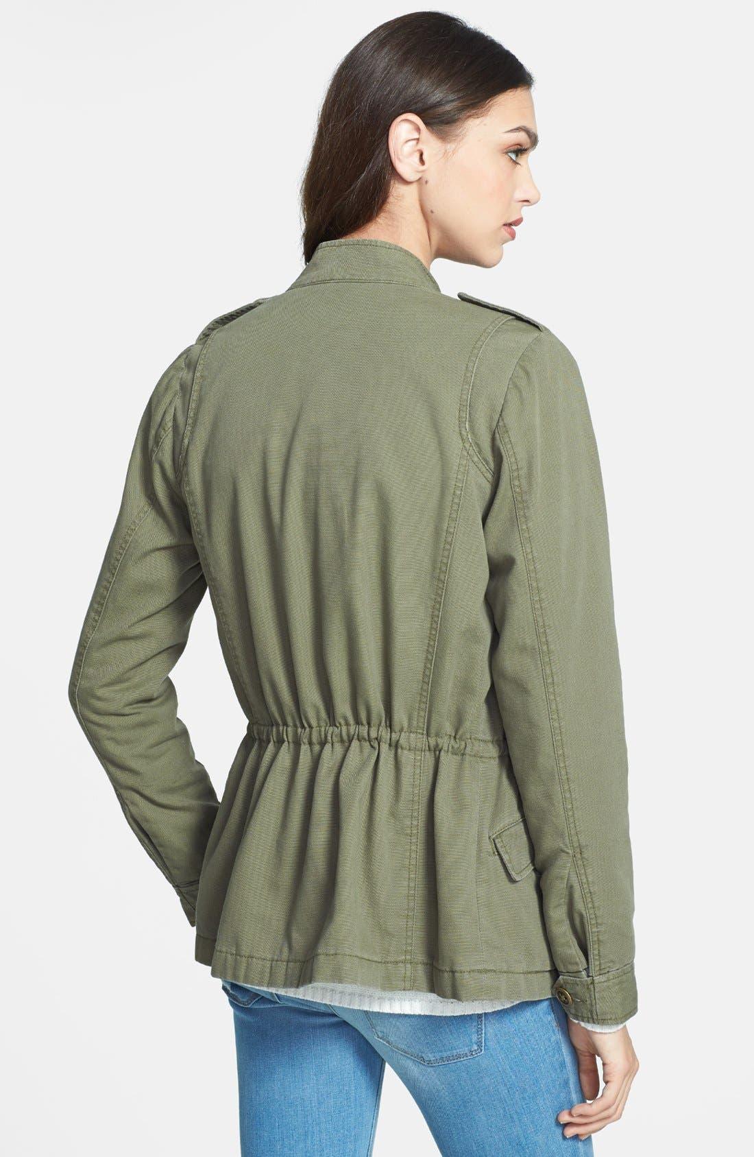 Alternate Image 2  - Hinge® 'Expedition' Cotton Twill Jacket