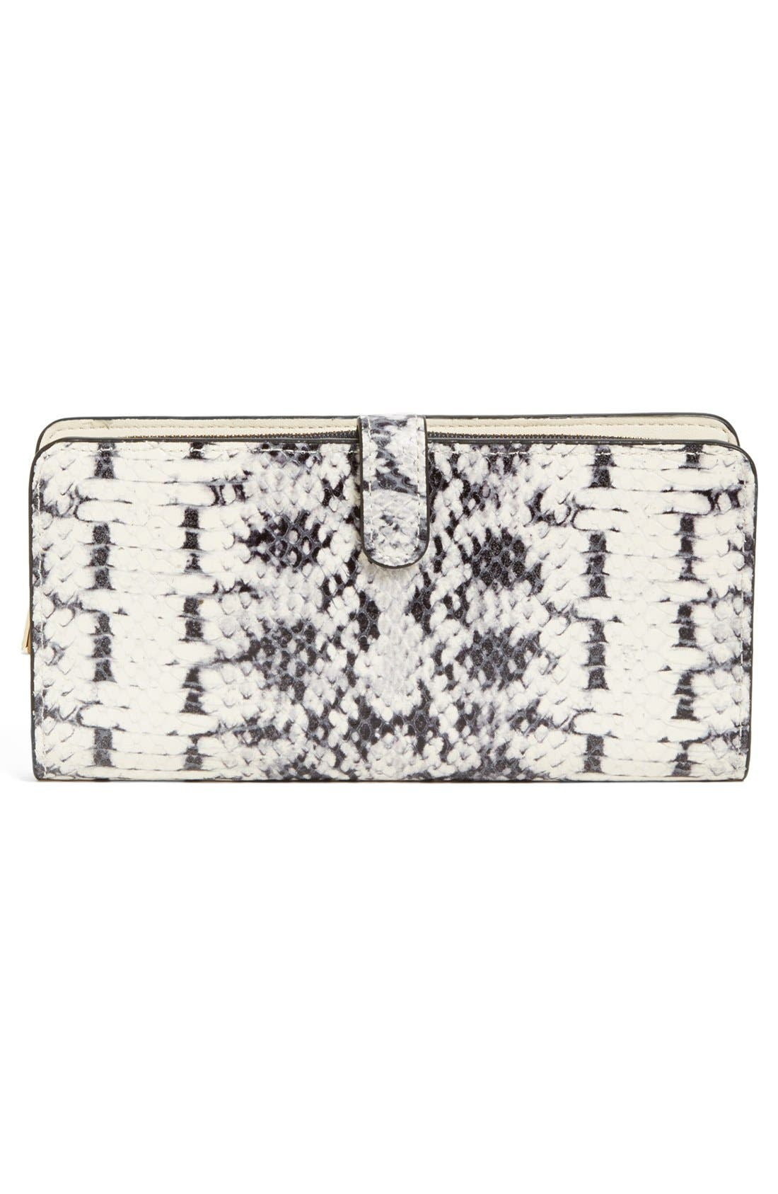 Alternate Image 2  - COACH 'Madison' Python Embossed Leather Wallet