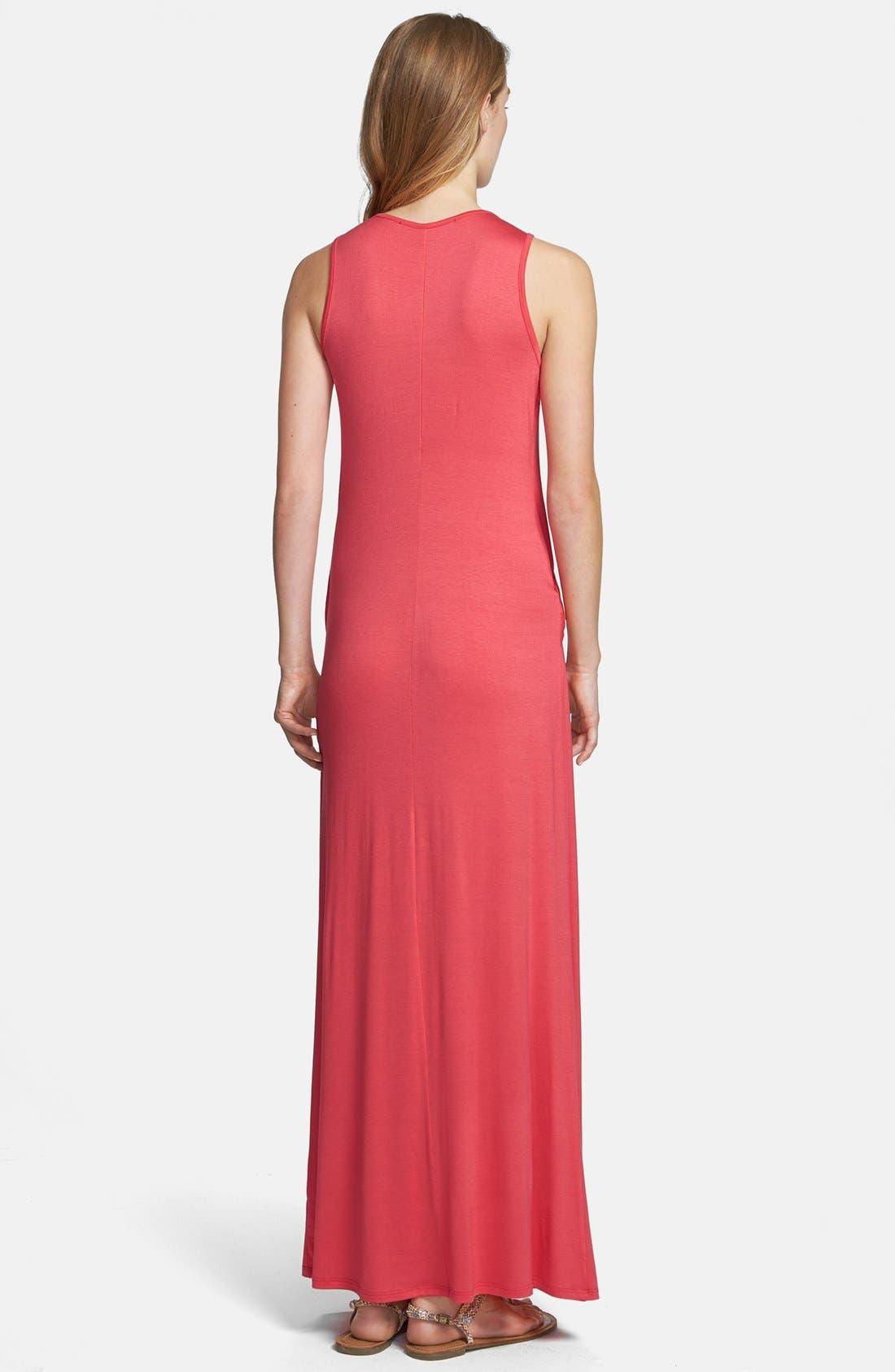 Alternate Image 2  - Everleigh Draped Maxi Dress