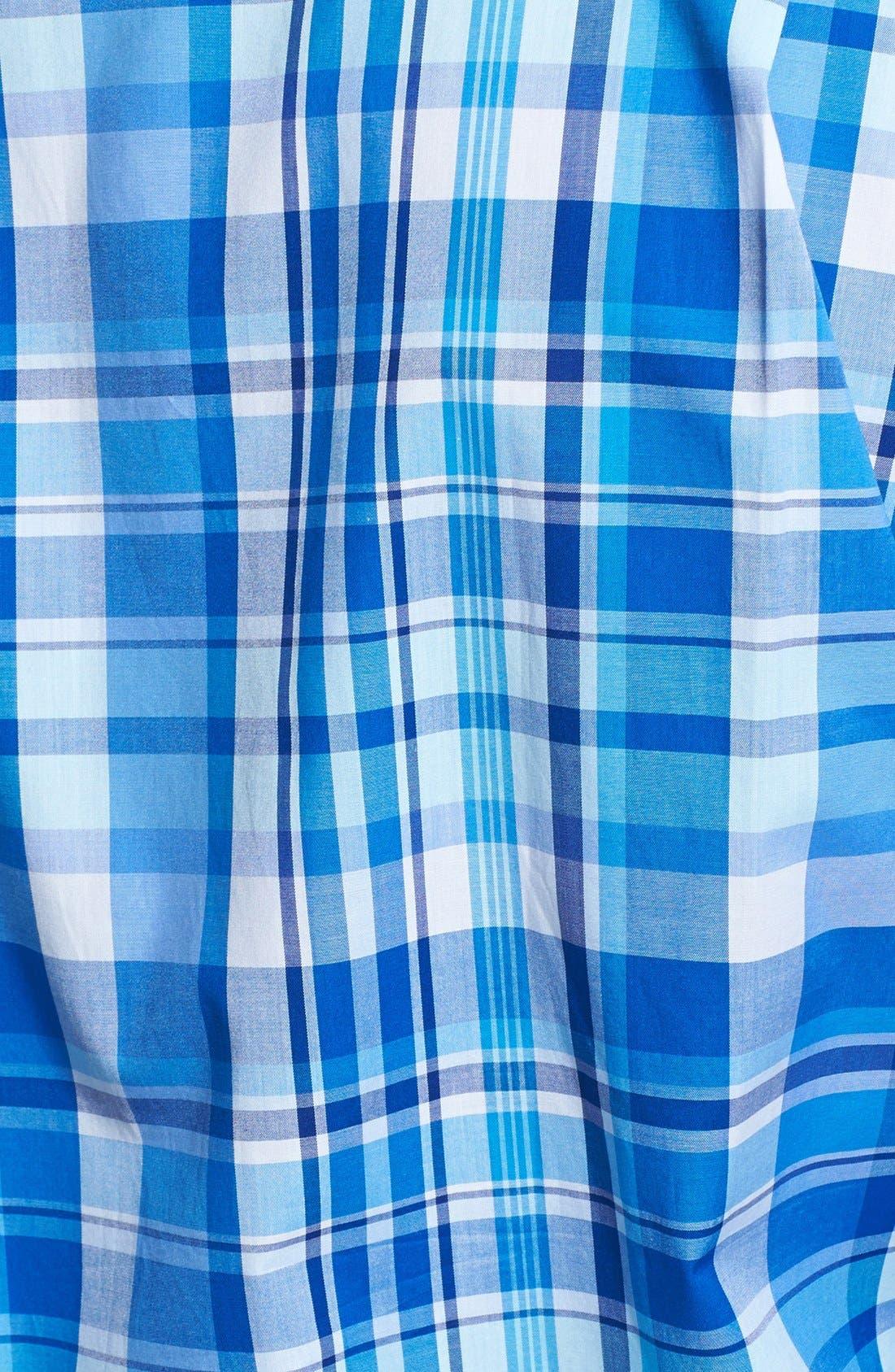 Alternate Image 3  - Paul & Shark Plaid Classic Fit Sport Shirt