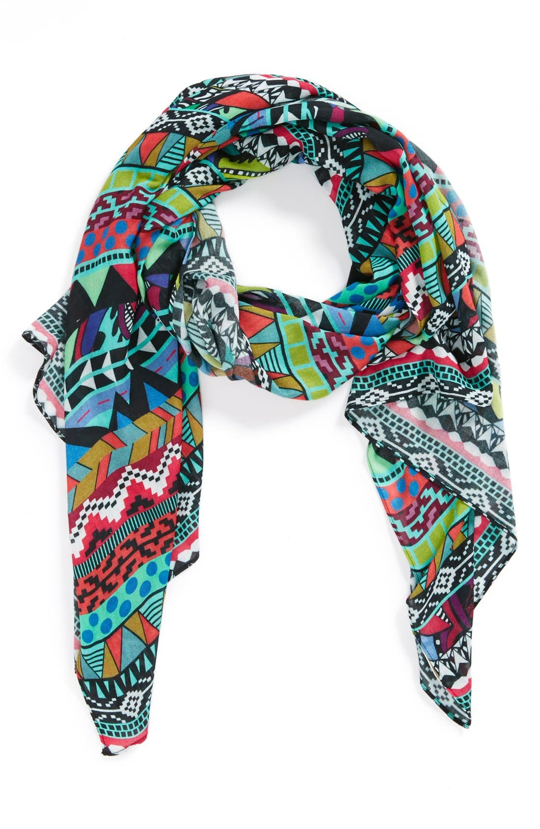 Alternate Image 1 Selected - Front Row Society 'Boho Ikat' Print Scarf