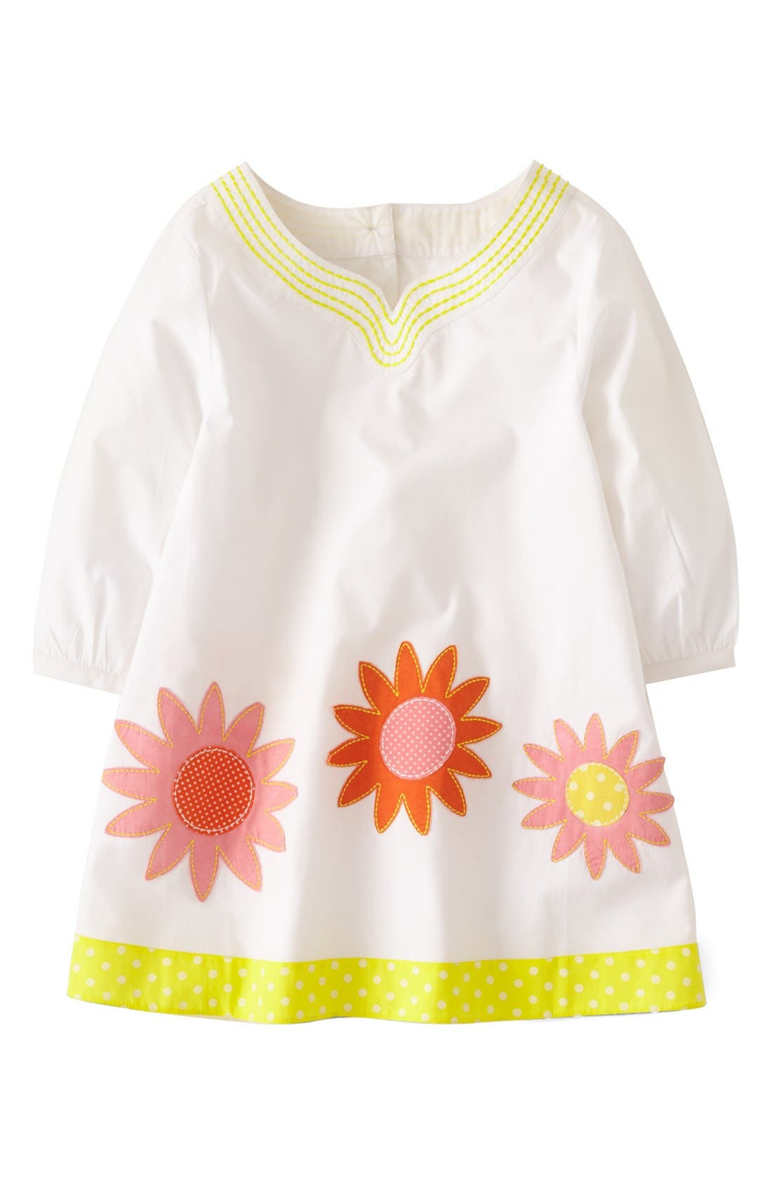 Alternate Image 1 Selected - Mini Boden Appliqué Caftan (Little Girls & Big Girls)