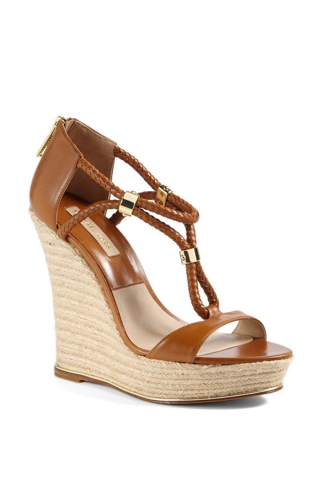 Main Image - Michael Kors 'Sherie ' Wedge Sandal