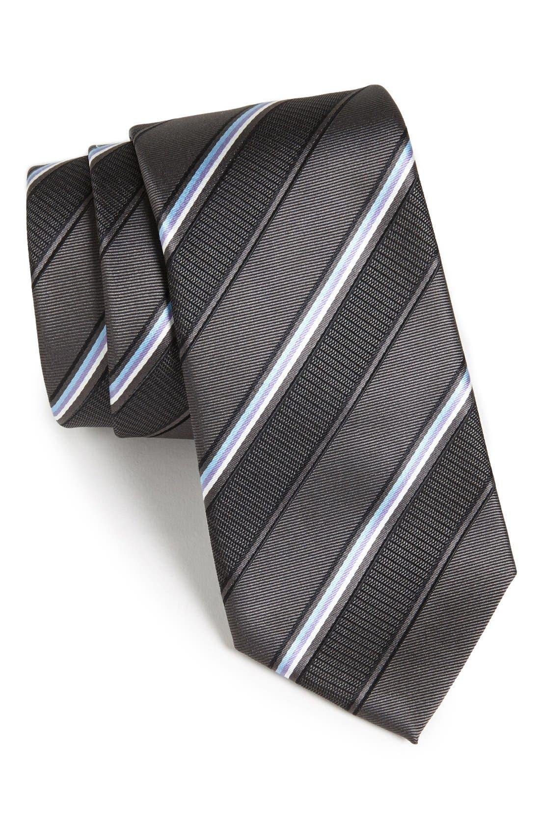 Main Image - BOSS HUGO BOSS Woven Silk Tie