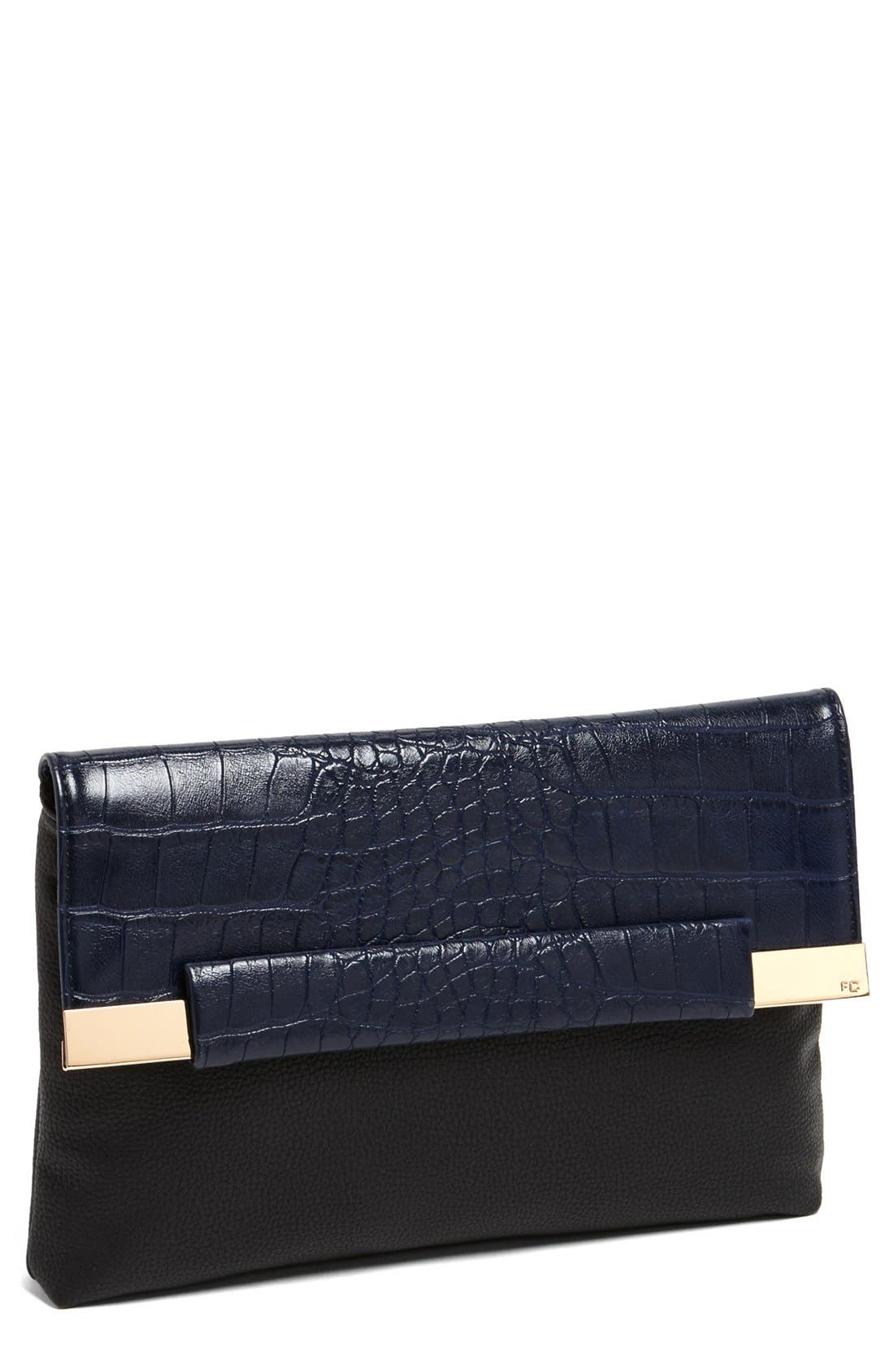 Main Image - French Connection 'Runaway' Clutch