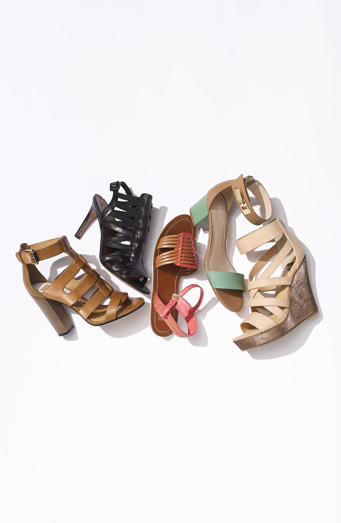 'Tell You What' Wedge Sandal,                             Alternate thumbnail 6, color,