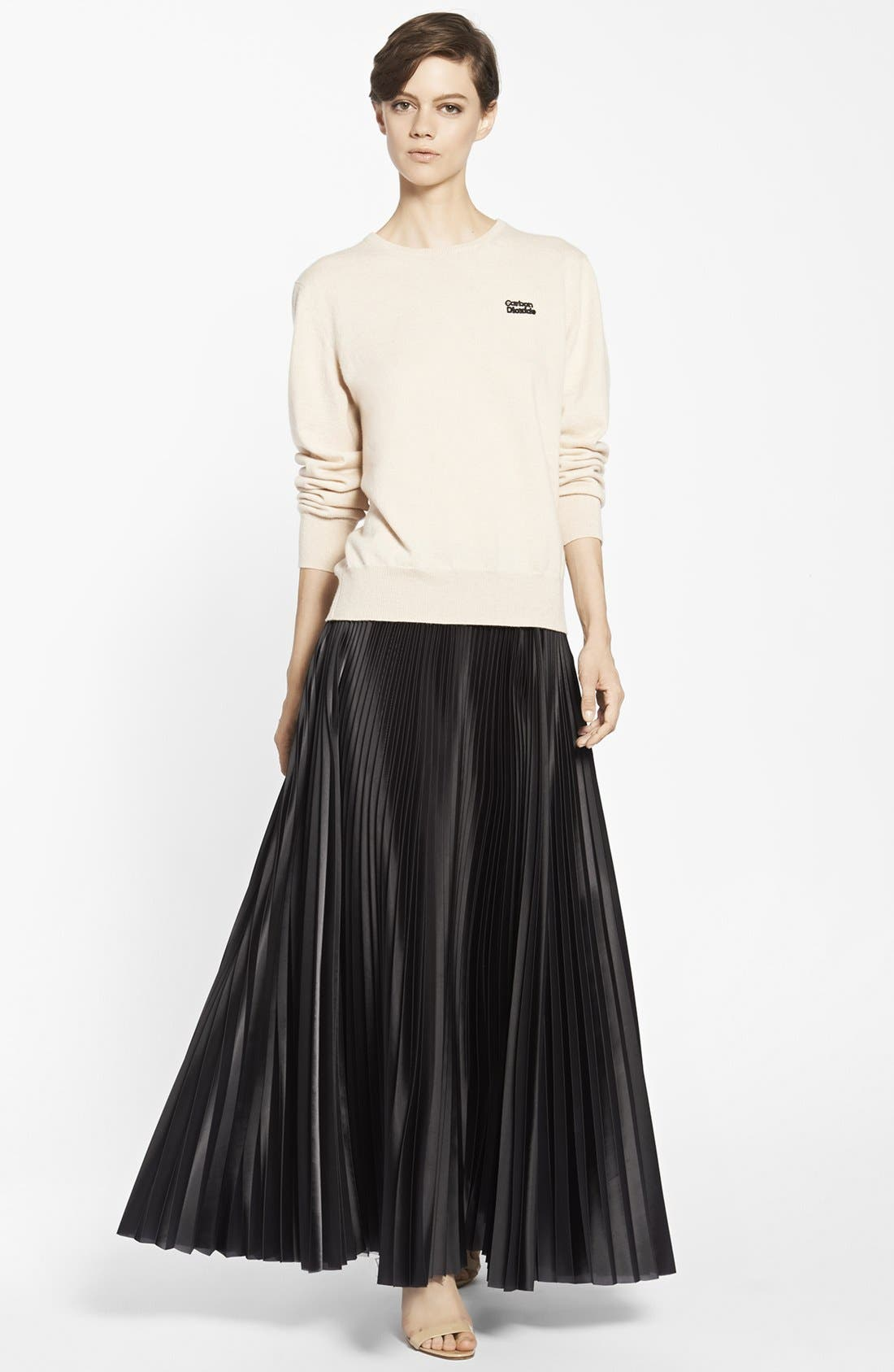 Alternate Image 3  - Christopher Kane Knife Pleat Skirt