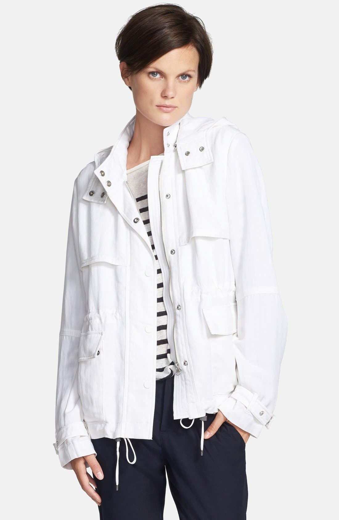 Alternate Image 1 Selected - Vince 'Luxe' Short Anorak