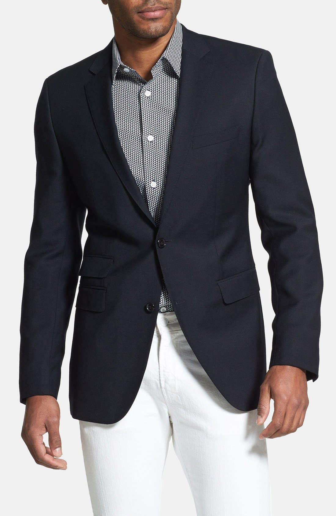 Alternate Image 1 Selected - BOSS HUGO BOSS 'The Sweet' Trim Fit Blazer