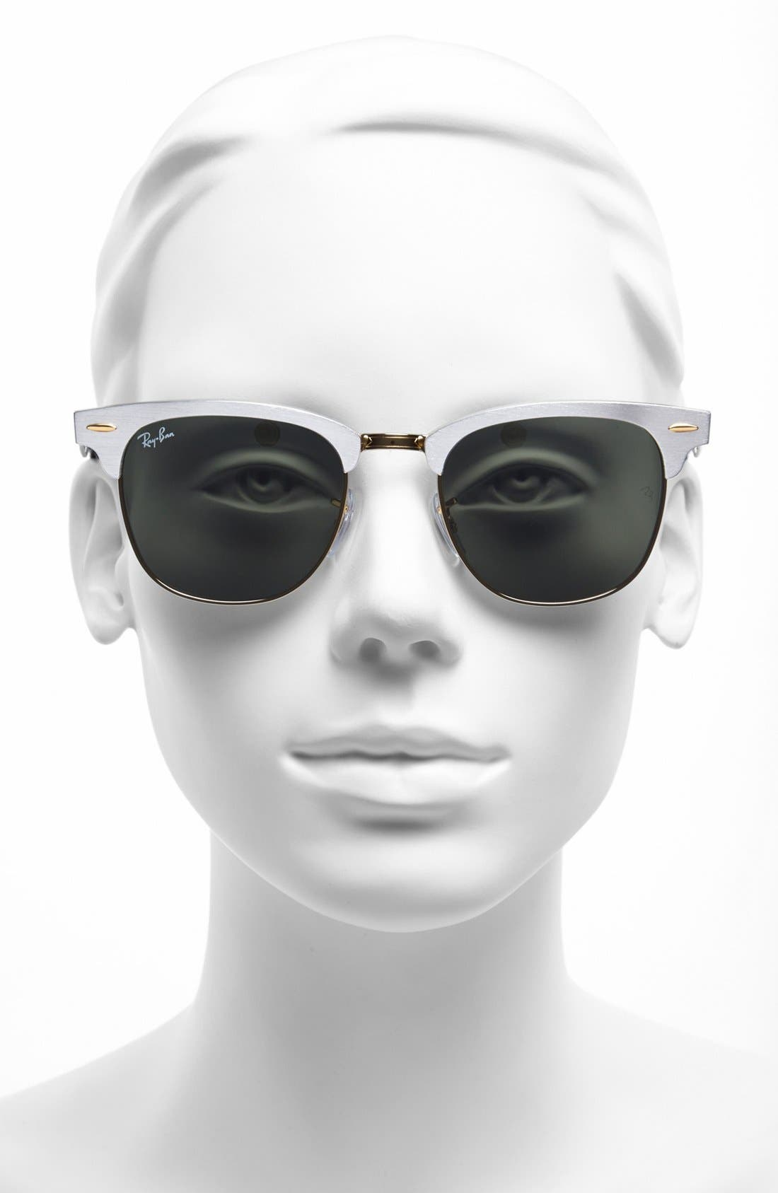 Alternate Image 2  - Ray-Ban 'Clubmaster' 51mm Sunglasses