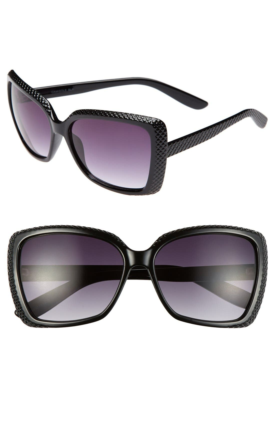 Alternate Image 1 Selected - Outlook Eyewear 58mm Retro Sunglasses