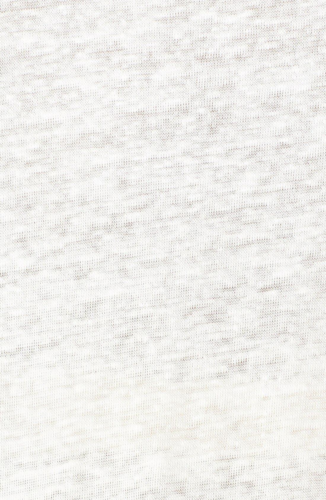 'Rancher H.' Graphic Burnout Tee,                             Alternate thumbnail 3, color,                             Porcelain