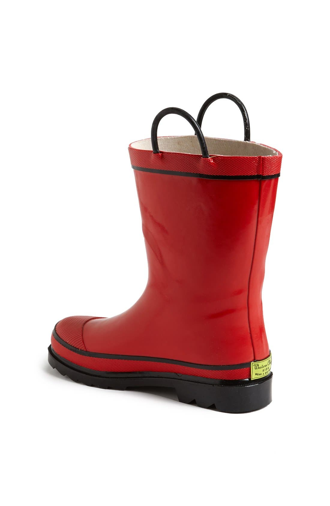 Alternate Image 2  - Western Chief 'Firechief 2' Rain Boot  (Walker, Toddler, Little Kid & Big Kid)