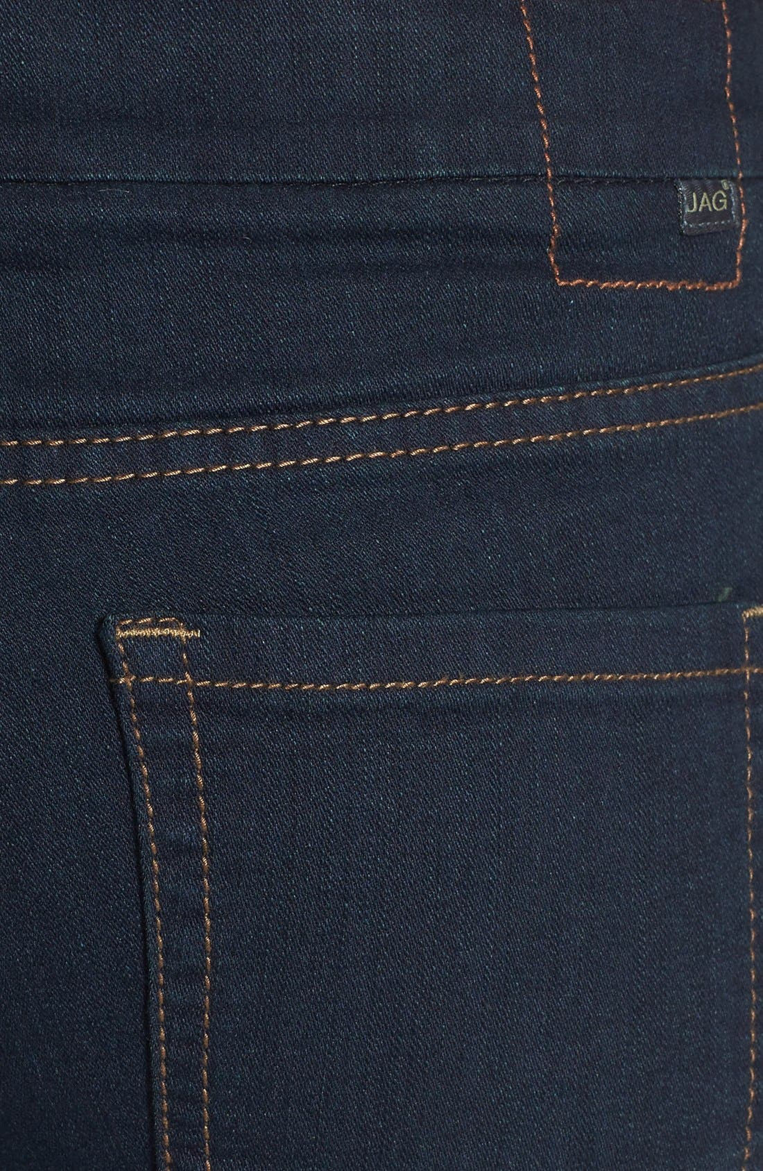 Alternate Image 4  - Jag Jeans 'Nora' Pull-On Skinny Stretch Jeans (After Midnight) (Regular & Petite)