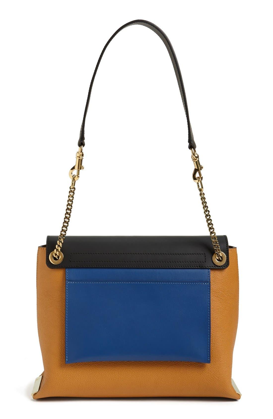 Alternate Image 4  - Chloé 'Clare' Tricolor Leather Shoulder Bag