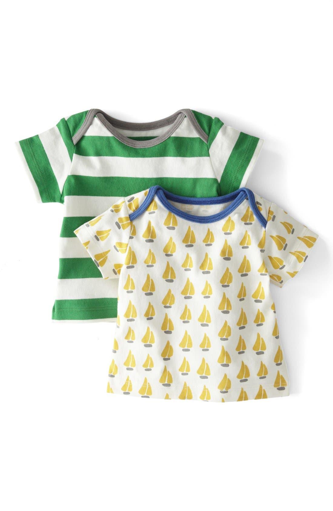 Alternate Image 1 Selected - Mini Boden 'Nautical' T-Shirt (2-Pack) (Baby Boys)