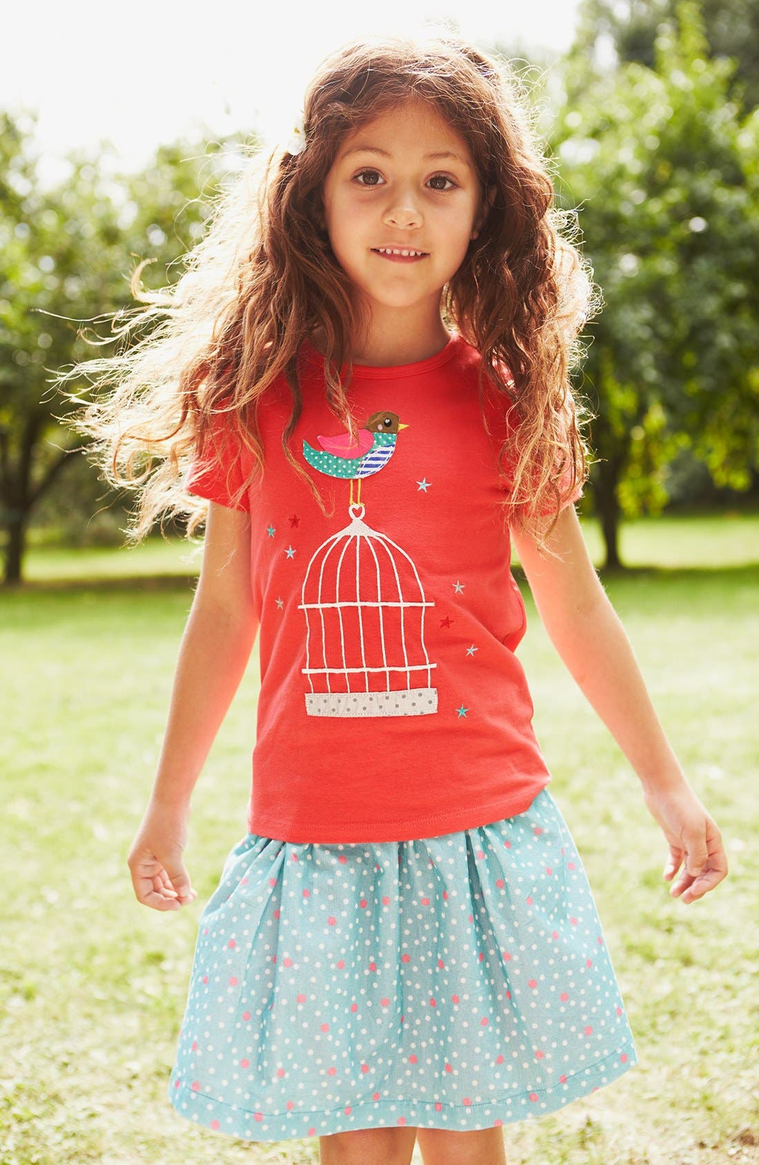 Alternate Image 3  - Mini Boden Patchwork Appliqué Tee (Toddler Girls, Little Girls & Big Girls)(Online Only)