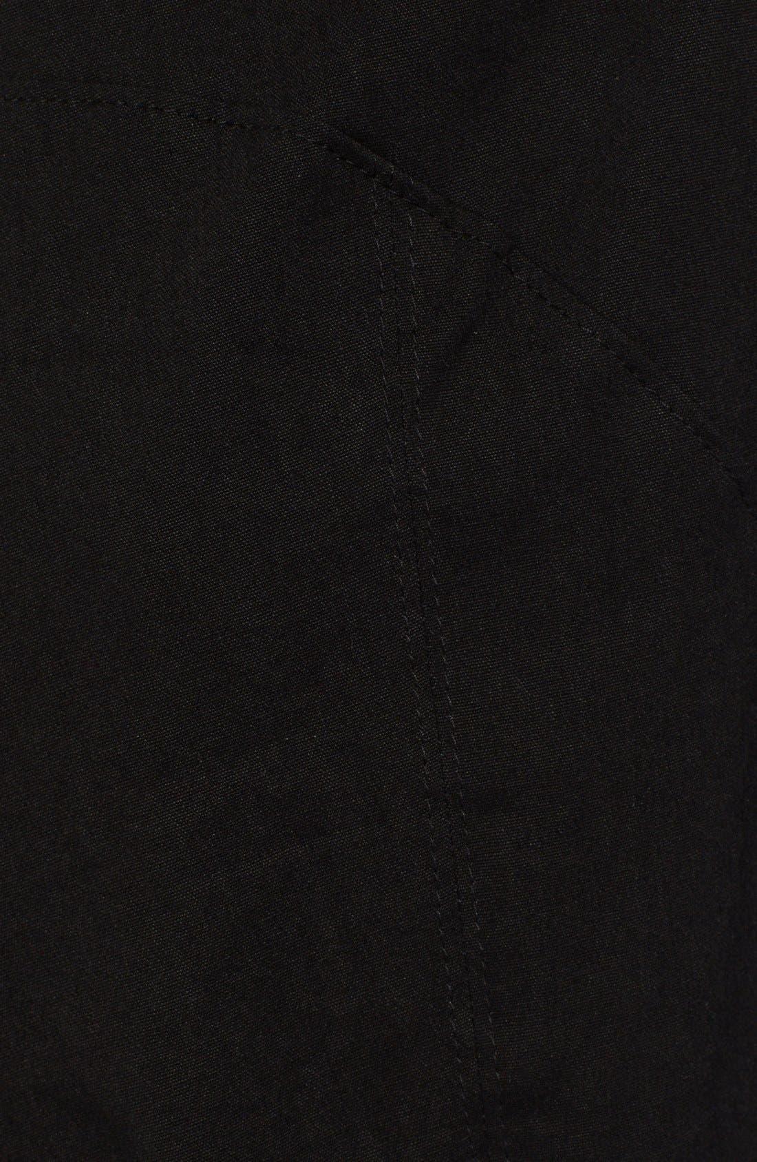 Alternate Image 3  - Donna Karan Collection Washed Canvas Crop Pants