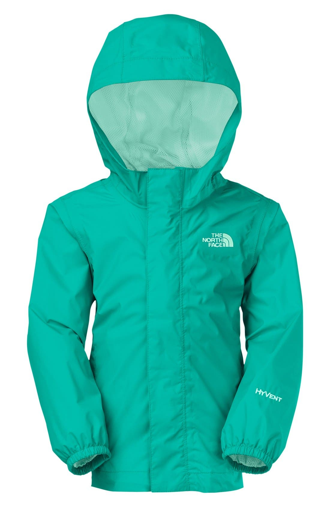Alternate Image 2  - The North Face 'Tailout' Rain Jacket (Toddler Girls)
