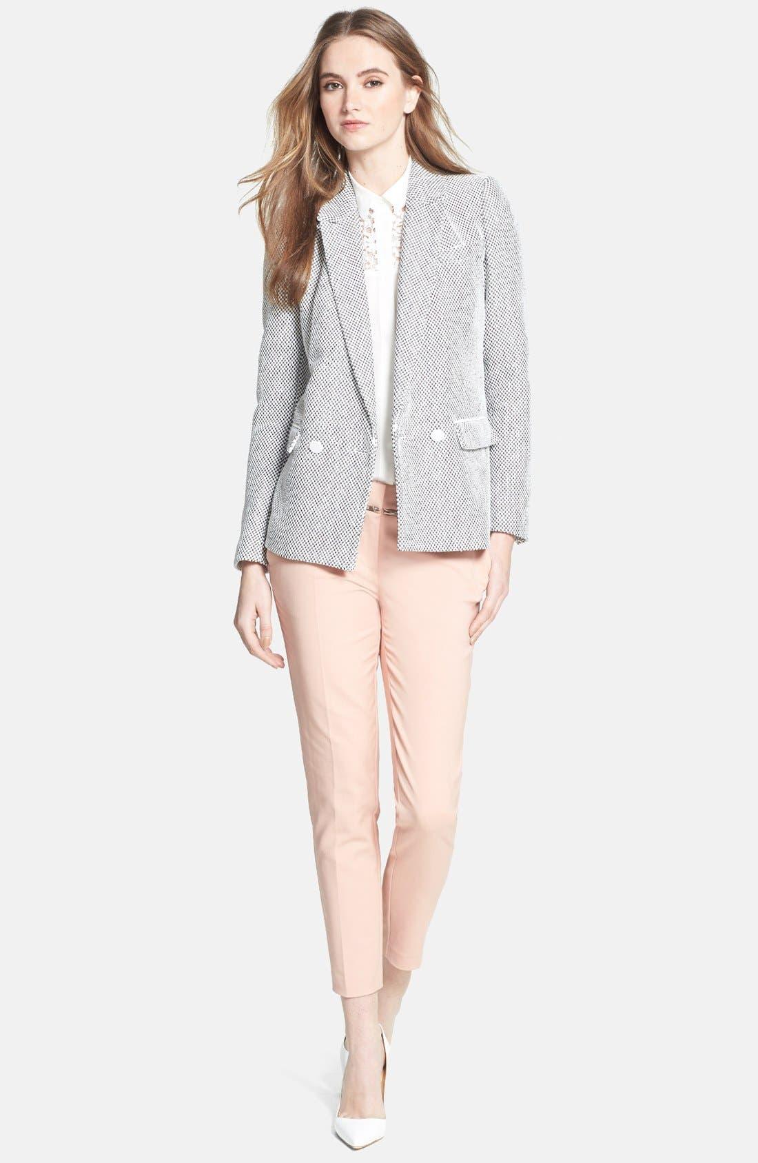 Alternate Image 4  - Rebecca Taylor 'Honeycomb' Jacket