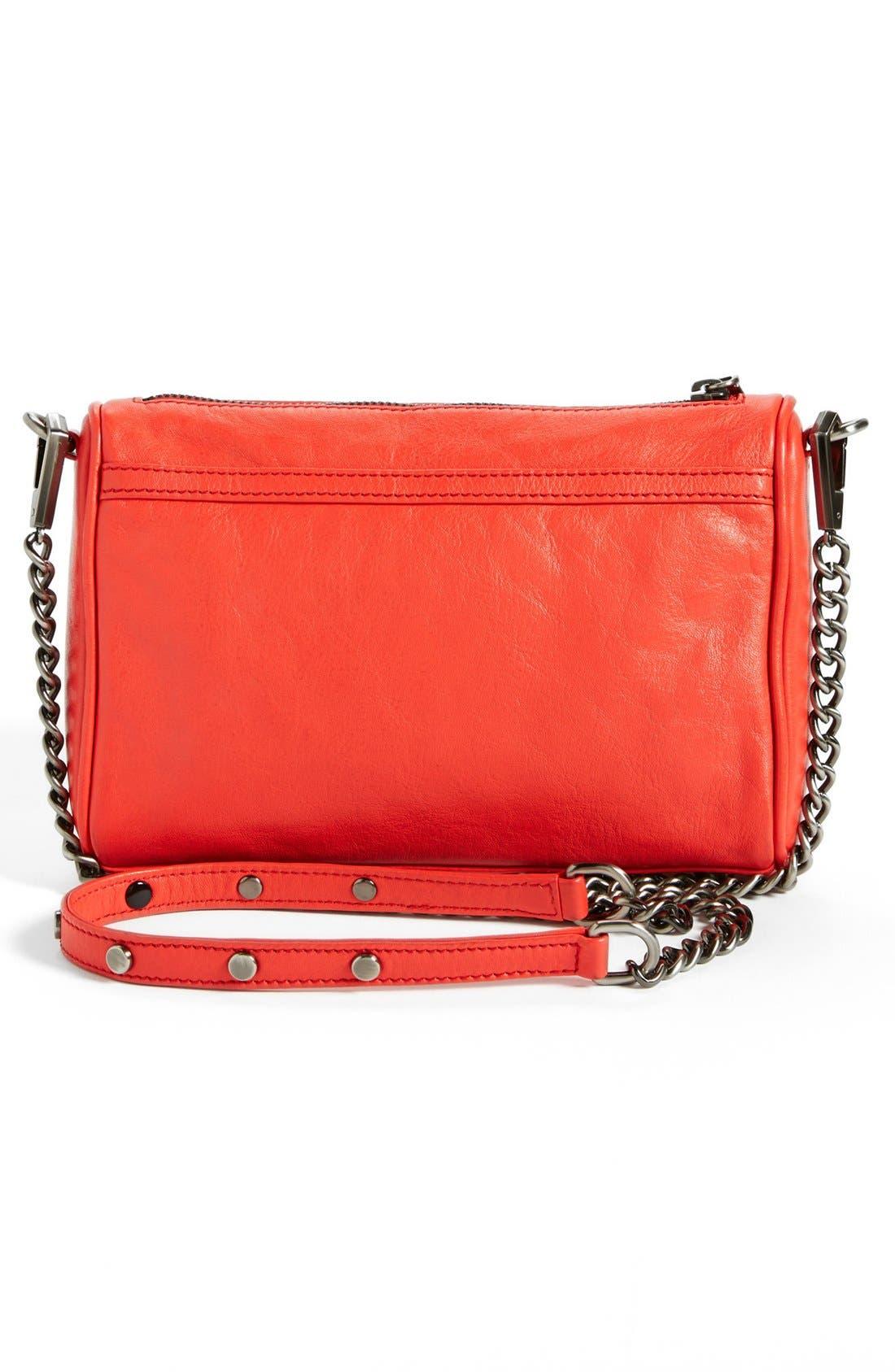 Alternate Image 4  - Rebecca Minkoff 'Mini MAC' Leather Crossbody Clutch