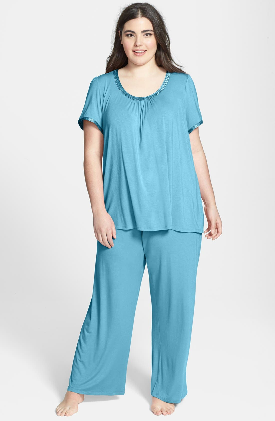 Alternate Image 1 Selected - Midnight by Carole Hochman 'Magic Moment' Pajamas (Plus Size)