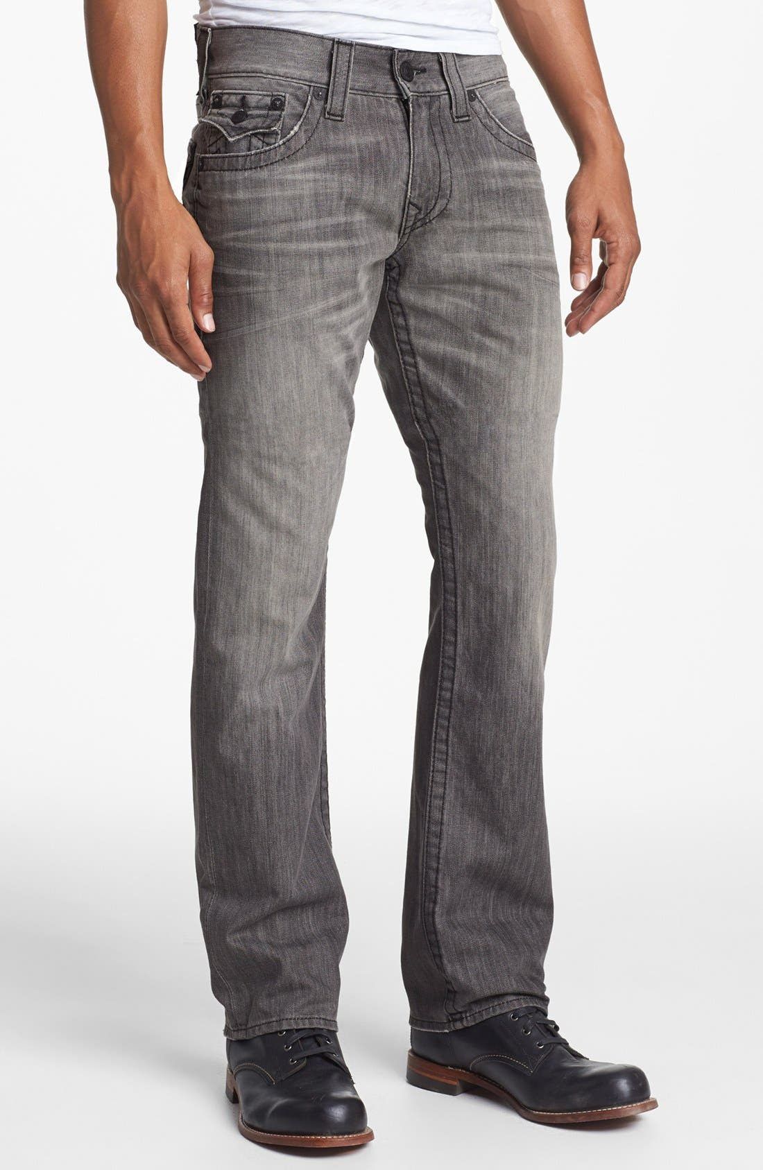 Alternate Image 2  - True Religion Brand Jeans 'Ricky' Relaxed Fit Jeans (Silverwood)