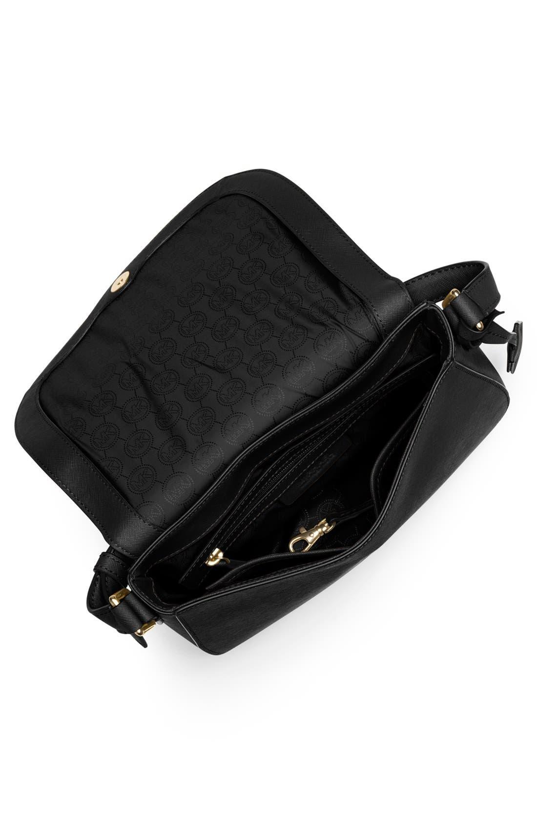 Alternate Image 2  - MICHAEL Michael Kors 'Large' Saffiano Leather Messenger Bag