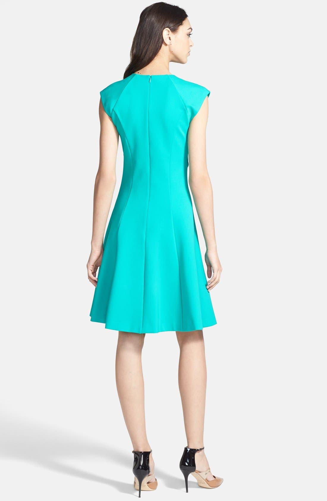 Alternate Image 2  - Ted Baker London Stretch A-Line Dress