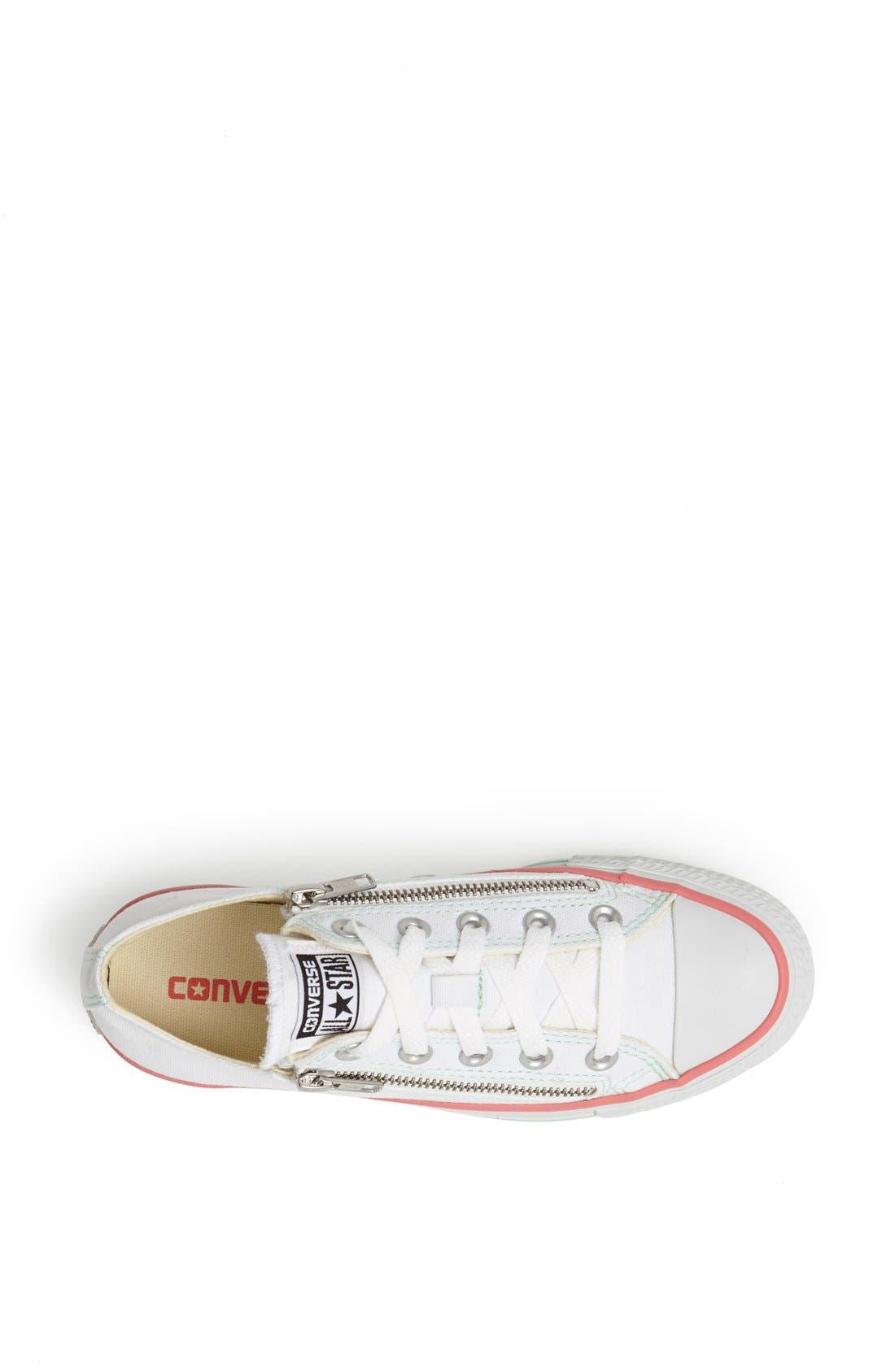 Alternate Image 3  - Converse Chuck Taylor® All Star® Double Zip Low Sneaker (Women)