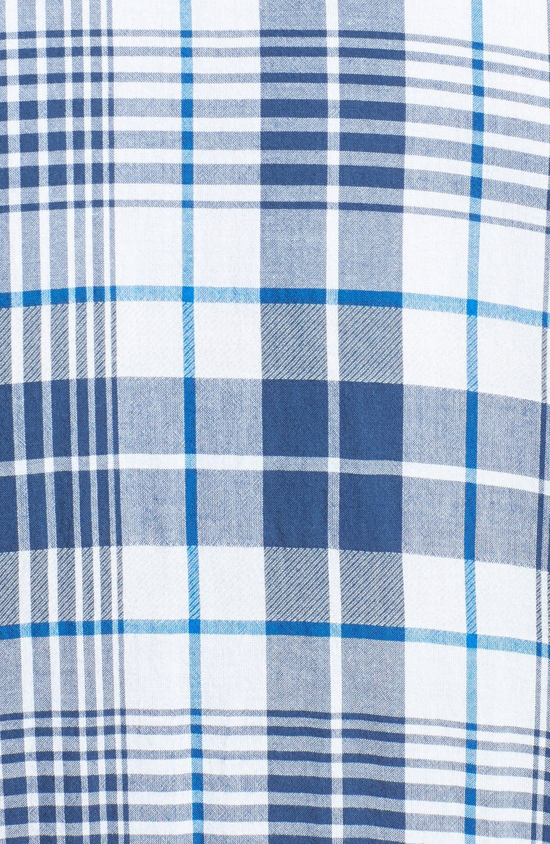 Alternate Image 3  - Lucky Brand 'Hammond' Plaid Poplin Western Shirt