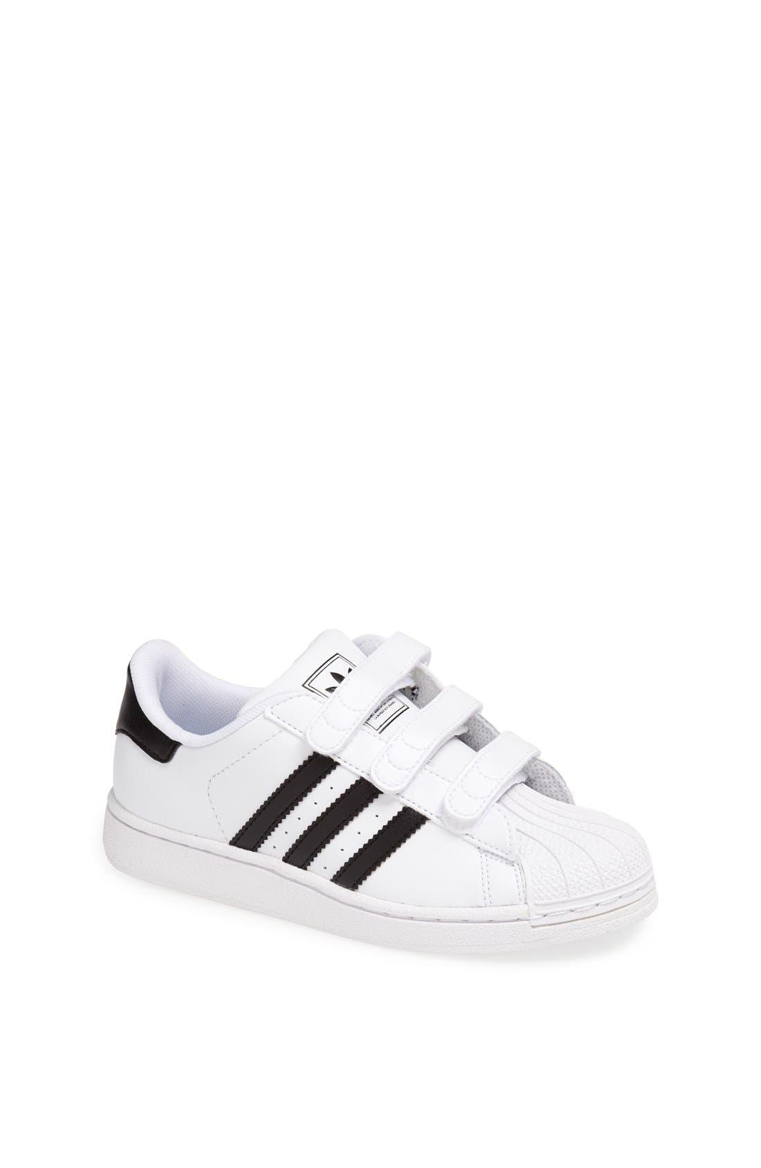 'Superstar 2' Sneaker,                             Main thumbnail 1, color,                             White/ Black