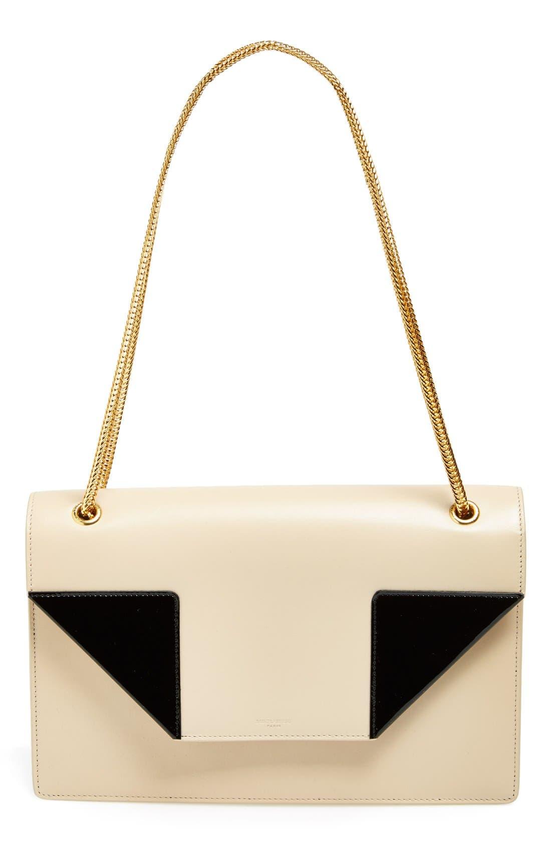 Main Image - Saint Laurent 'Medium Betty' Calfskin Shoulder Bag
