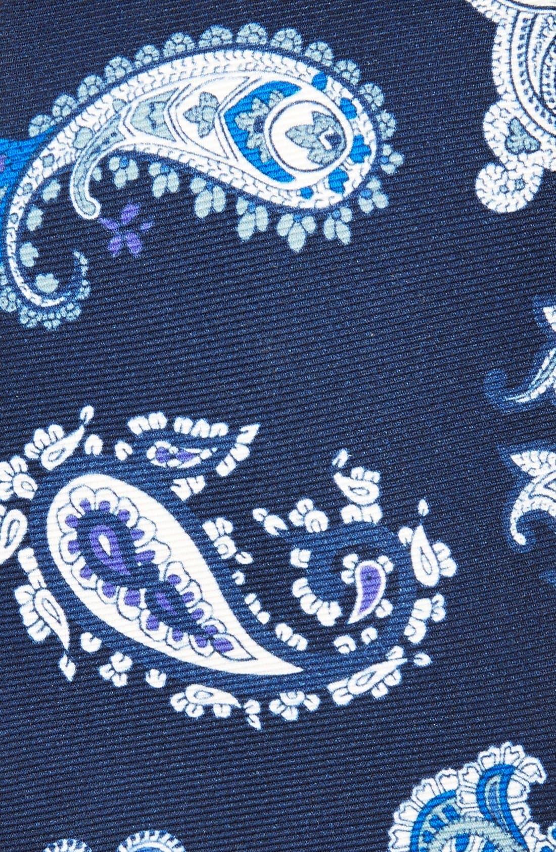 Alternate Image 2  - Etro Print Silk Tie