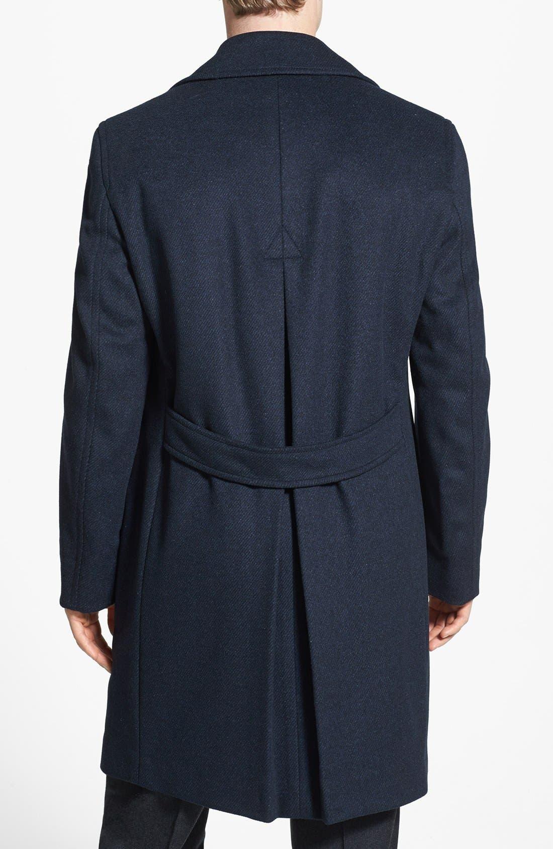 Alternate Image 2  - Cardinal of Canada Wool Blend Top Coat