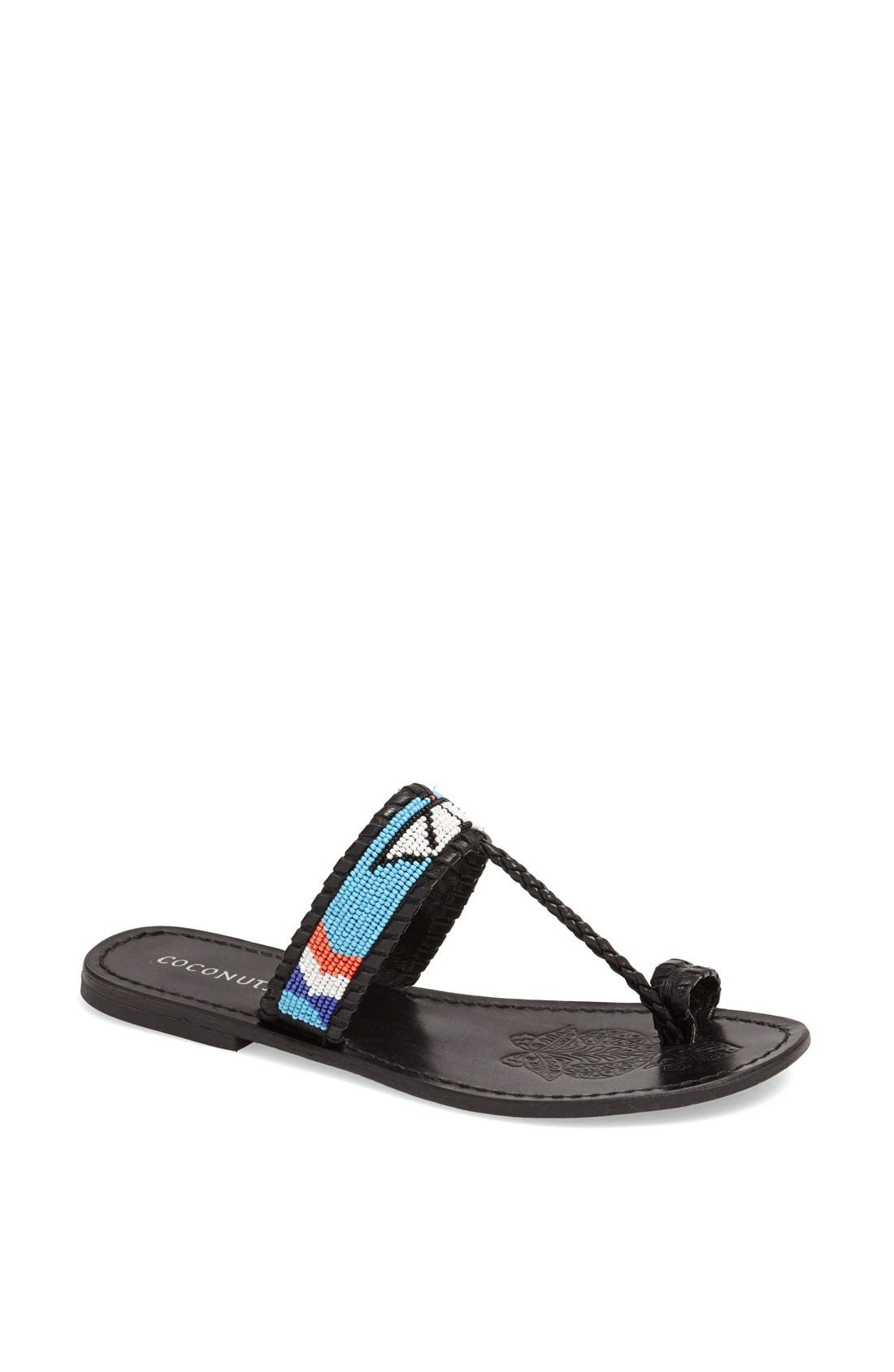 Alternate Image 1 Selected - Coconuts by Matisse Beaded Sandal