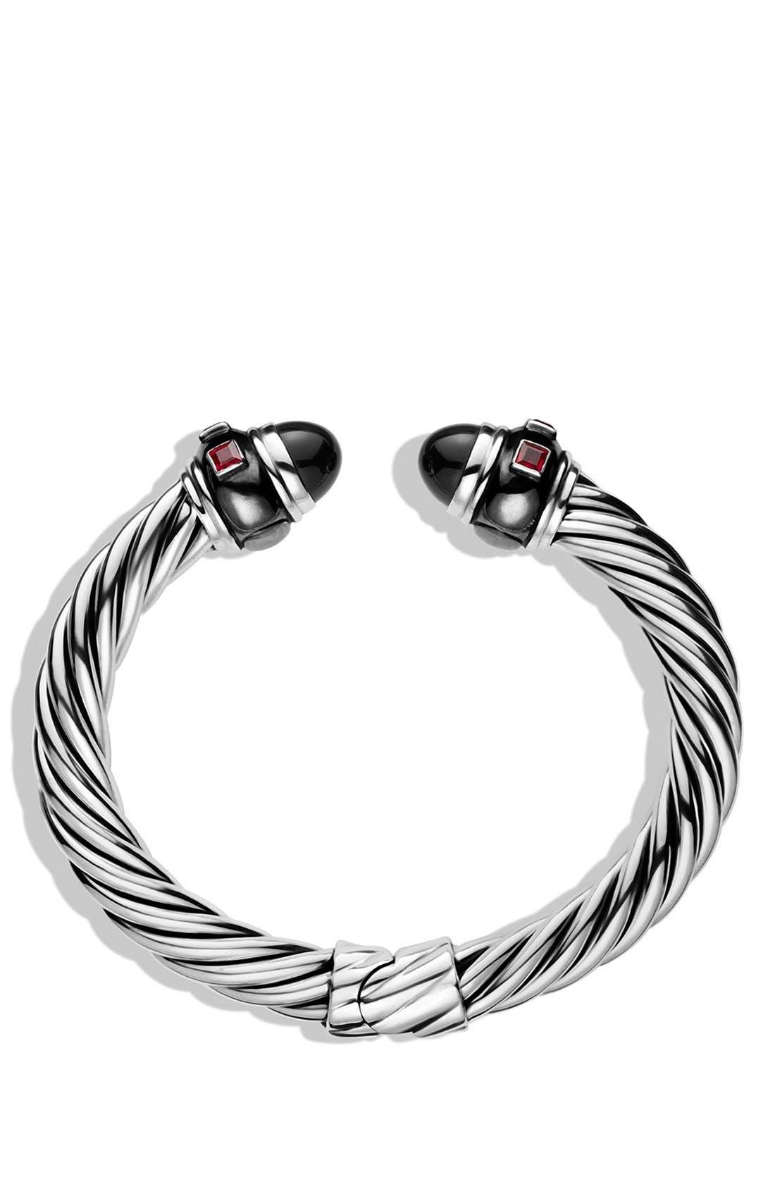 Alternate Image 2  - David Yurman 'Renaissance' Bracelet with Black Onyx and Ruby