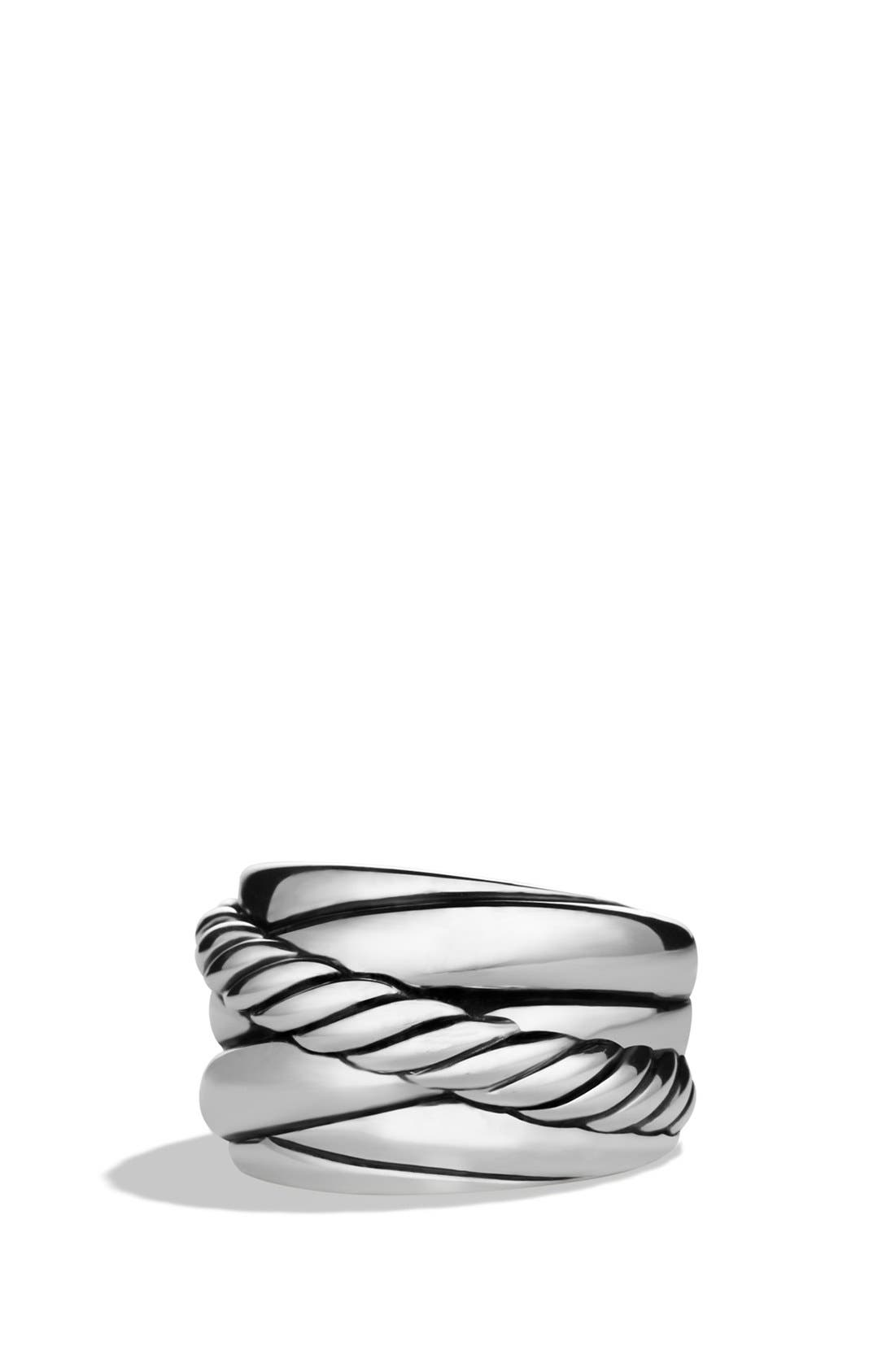 Main Image - David Yurman 'Crossover' Wide Ring
