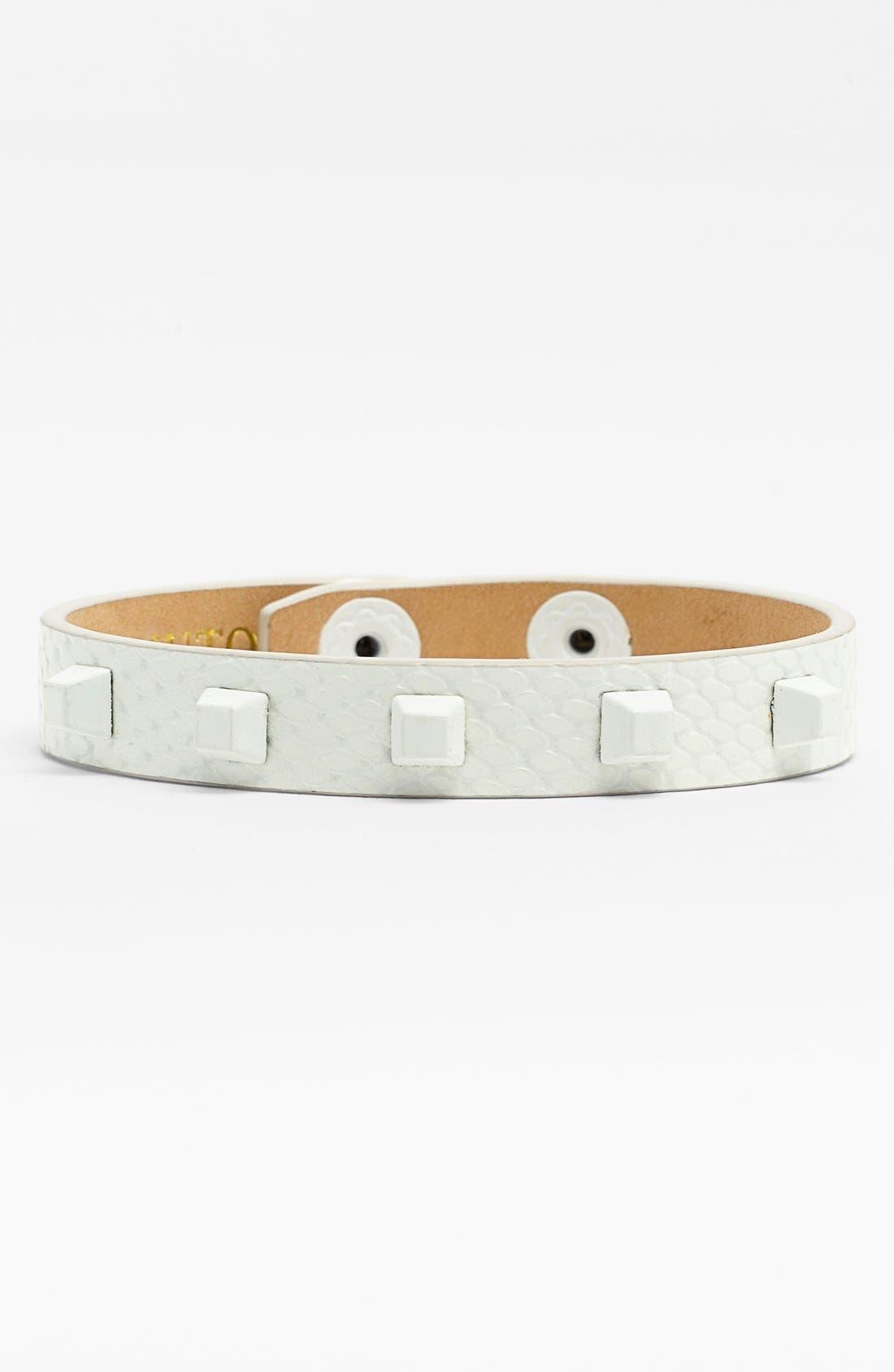 Alternate Image 1 Selected - Vince Camuto Studded Leather Bracelet