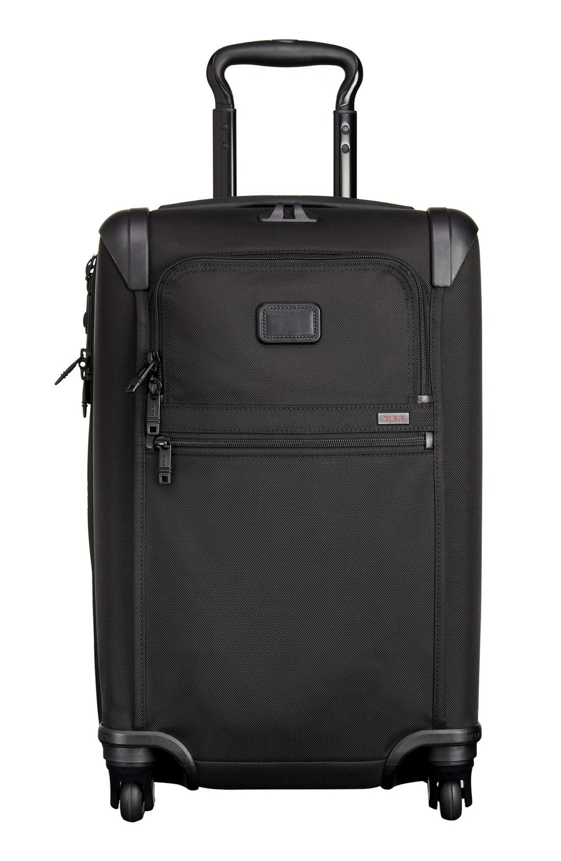 Alpha 2 International 22-Inch Carry-On,                             Main thumbnail 1, color,                             Black