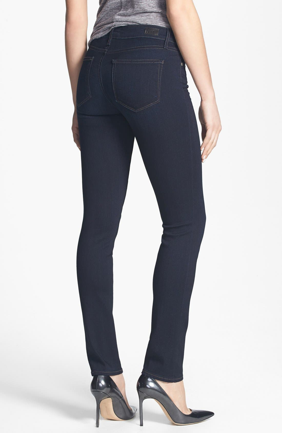 Alternate Image 2  - PAIGE 'Transcend - Skyline' Skinny Jeans (Mona)