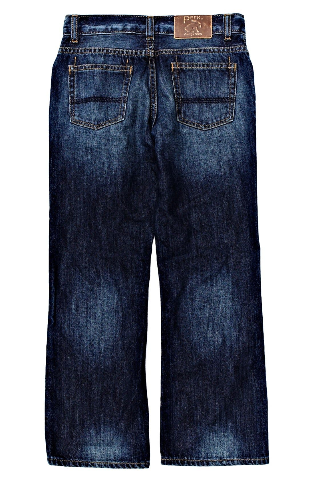 Alternate Image 1 Selected - Peek 'Sullivan' Jeans (Toddler Boys, Little Boys & Big Boys)